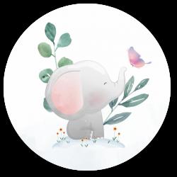 24 Sluitzegels olifant