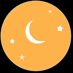 24 Sluitzegels maan